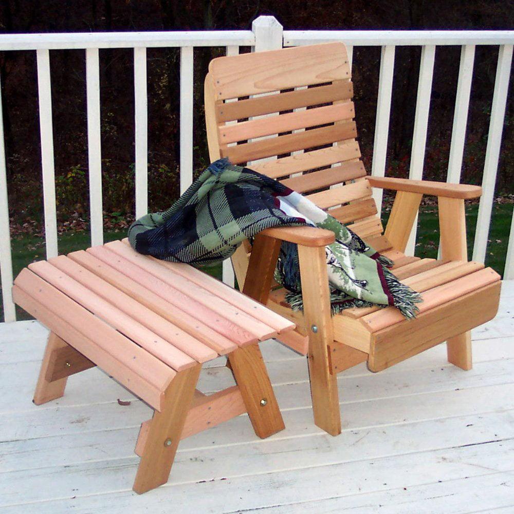 Creekvine Designs Cedar Twin Ponds Chair & Table Set