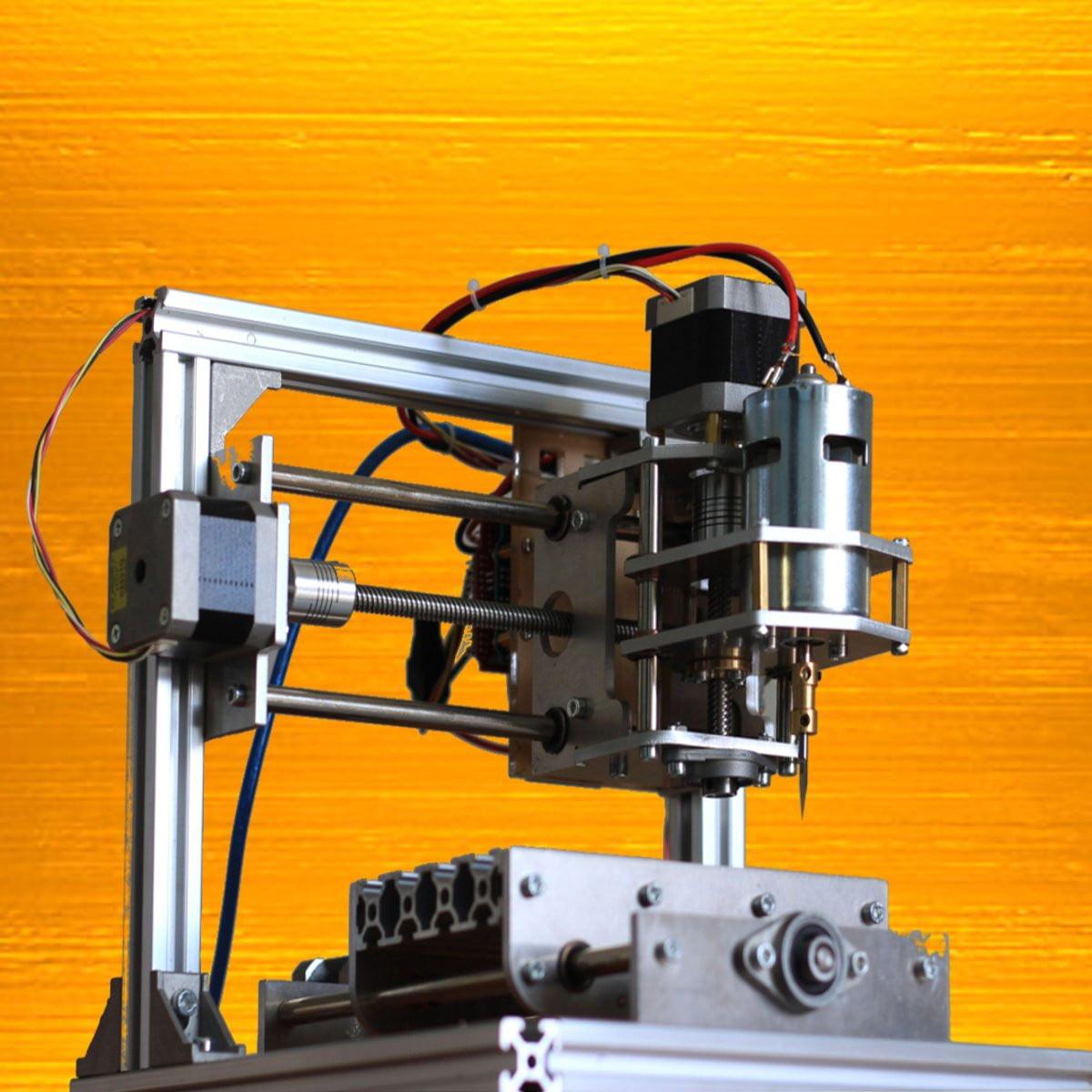 Diy 3 Axis Cnc Engraver Machine Pcb Milling Cutting Wood