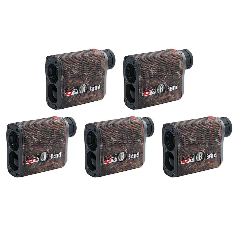 Bushnell 6 x 21 G Force DX ARC Vertical Hunting Laser Rangefinder, Camo (5 Pack)