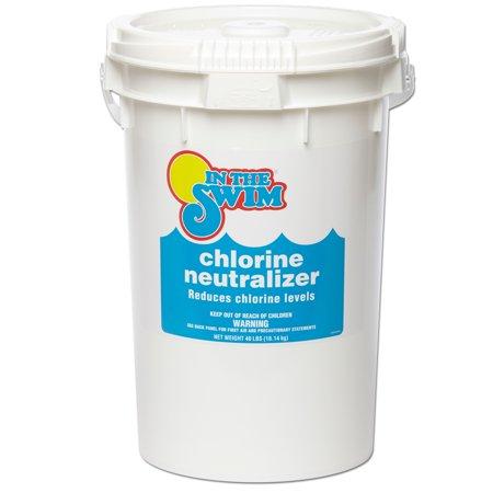 In The Swim Pool Water Chlorine Neutralizer 40 Lbs