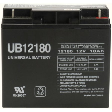 12 Volt 18 Amp Hour Upgrade Battery for Modified Power Wheels New w/Warranty