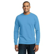 Port & Company Men's Tall Long Sleeve 50/50 Cotton/Poly T-Shirt PC55LST