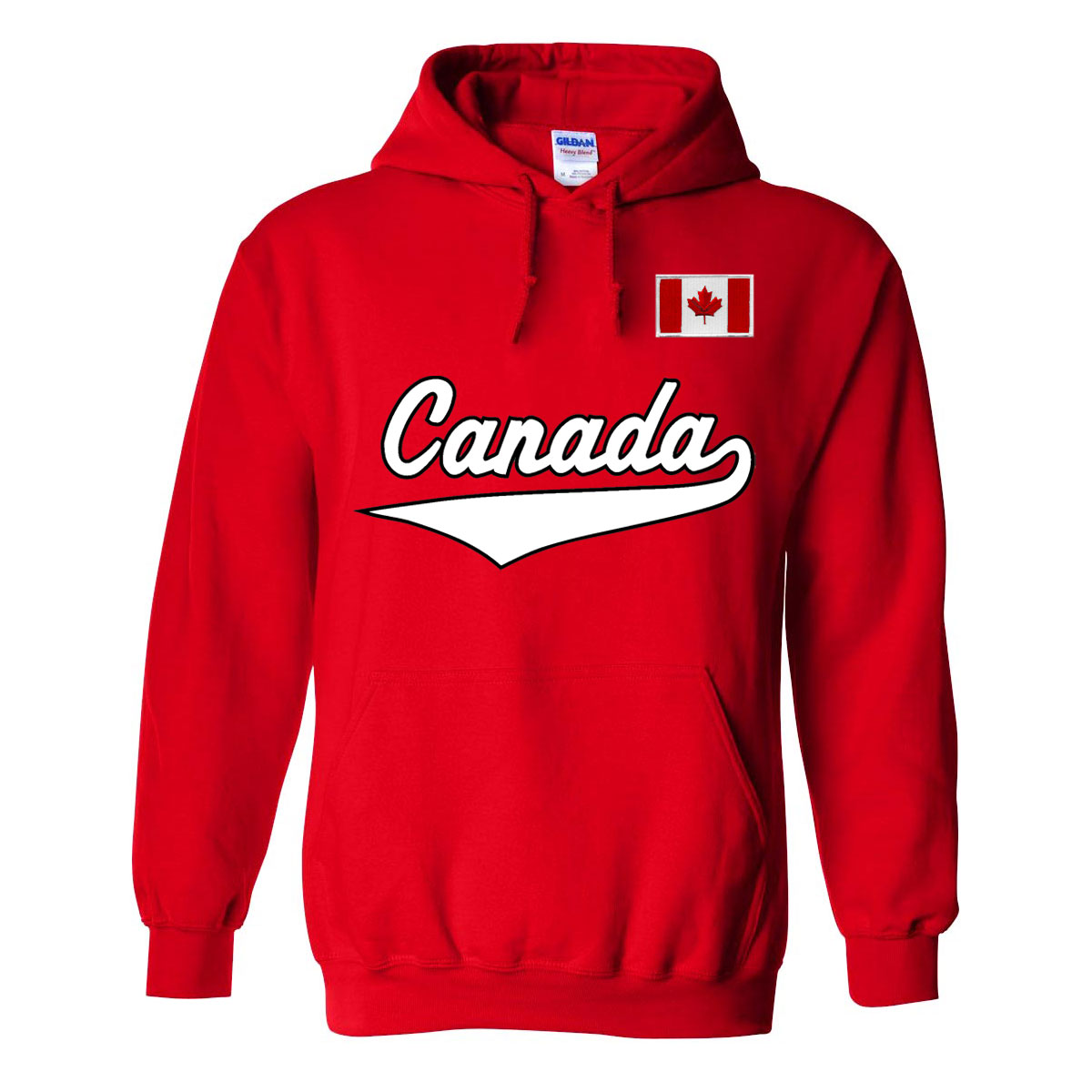 Canada MyCountry Pullover Script Hoody (Red)