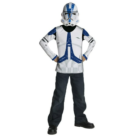Super Trooper Costume Halloween (Boys Star Wars Clone Trooper Halloween)