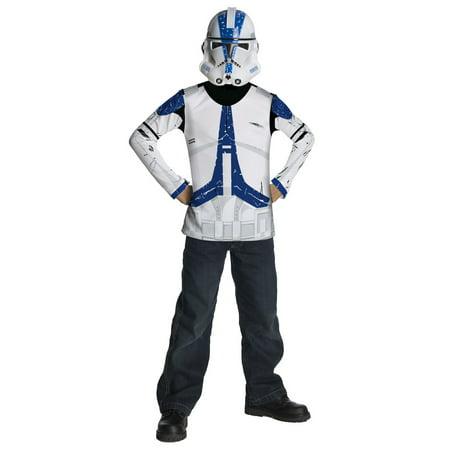 Boys Star Wars Clone Trooper Halloween - Star Wars Clone Costumes
