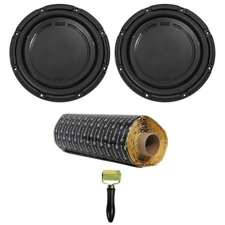"(2) Polk Audio DB1242SVC 12"" 2220 Watt Single 4-Ohm Car Audio Subwoofers Subs (Polk Audio Subs)"