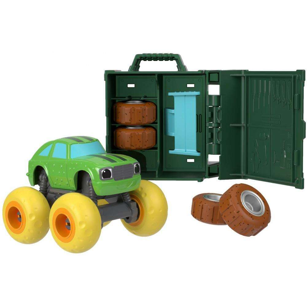 Nickelodeon Blaze and the Monster Machines Tune Up Tires Pickle