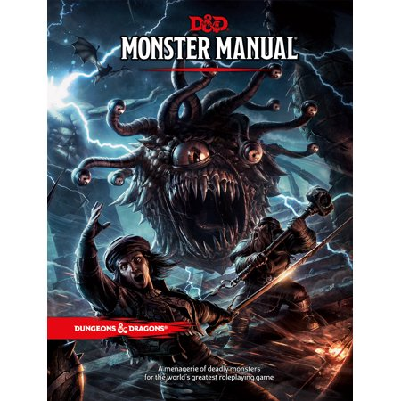 - Dungeons & Dragons: Monster Manual (Hardcover)