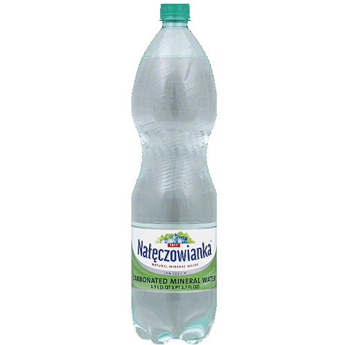 Naleczowianka Carbonated Mineral Water, 1.5 l, (Pack of 6) by