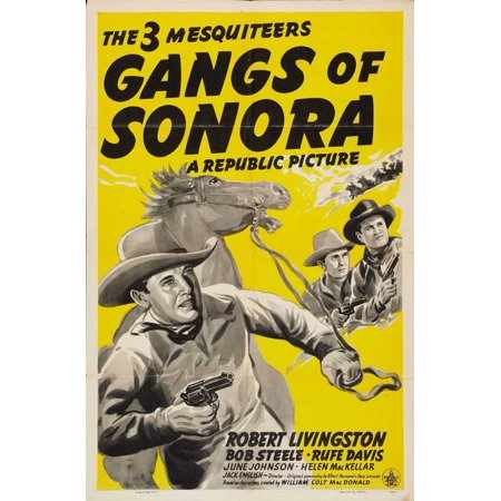 Gangs of Sonora POSTER Movie Mini Promo (Banda Sonora Halloween Mp3)