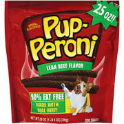 Pup-Peroni Lean Beef Flavor Dog Snacks, 25-Ounce