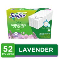 Swiffer Sweeper Dry Pad Refill, Lavender Scent, 52 Ct