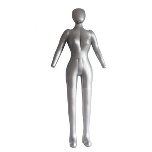 Inflatable Mannequin Plus Size Black Female Torso
