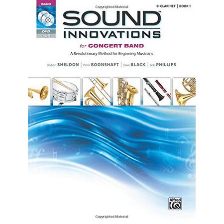 B-flat Clarinet Music Book - Sound Innovations Book 1 - Clarinet