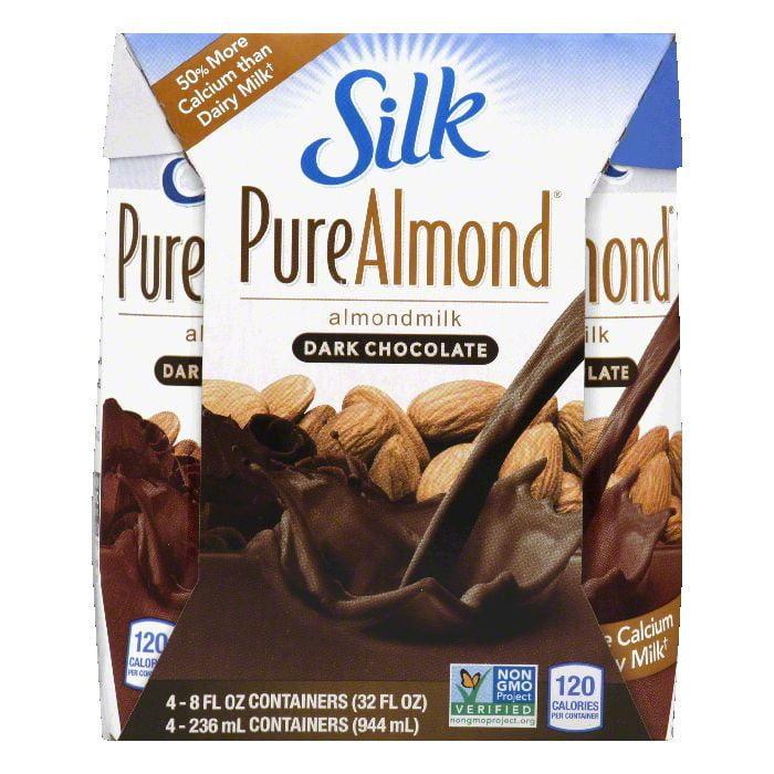 Silk Dark Chocolate Almondmilk, 32 Oz (Pack of 6)