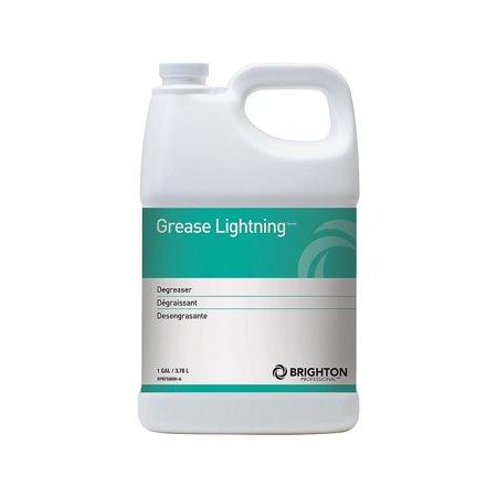 Brighton Grease Lightning All Purpose Heavy Duty Alkaline Cleaner 1 gal 4/Ct