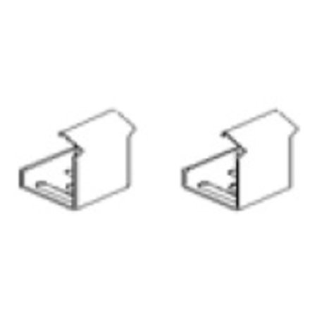 Kichler 6HS45CLIPS 45 Degree Mounting Clips for Hard Strips ()