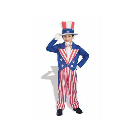 COSTUME-CHILD UNCLE SAM SMALL - Uncle Sam Halloween Costumes
