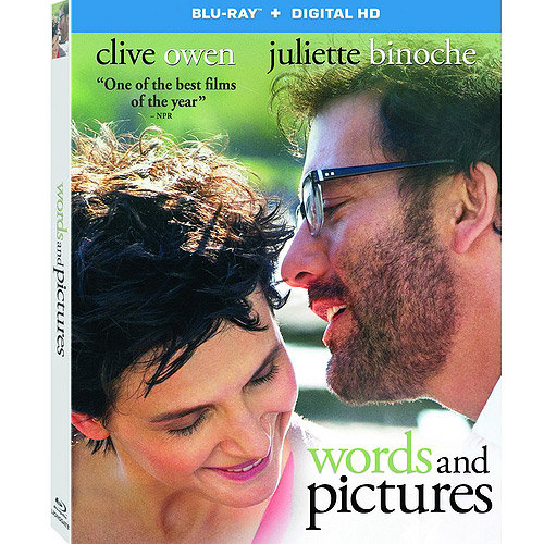 Words And Pictures (Blu-ray + Digital HD) (With INSTAWATCH) (Widescreen)