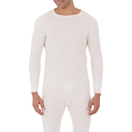 Duofold Cotton Long Underwear - Big Mens Classic Thermal Underwear Crew Top