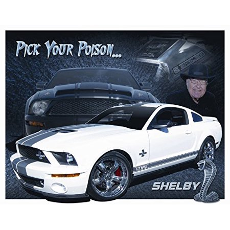 Shelby Mustang - You Pick Tin Sign 16 x 12in