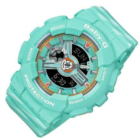 65f04a1da3226 Casio - Casio Baby-G BA-110CH-3A World Time Women s Watch Punto IT Design -  Walmart.com