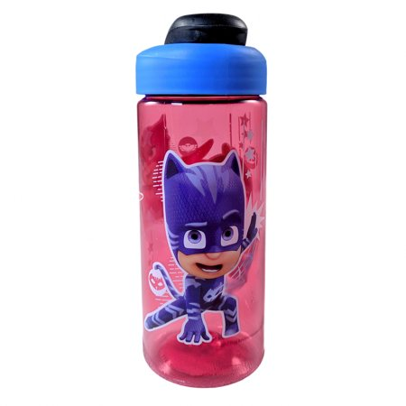 Night Water Bottles - Disney PJ Masks Anti Spill 16oz Reusable Water Bottle