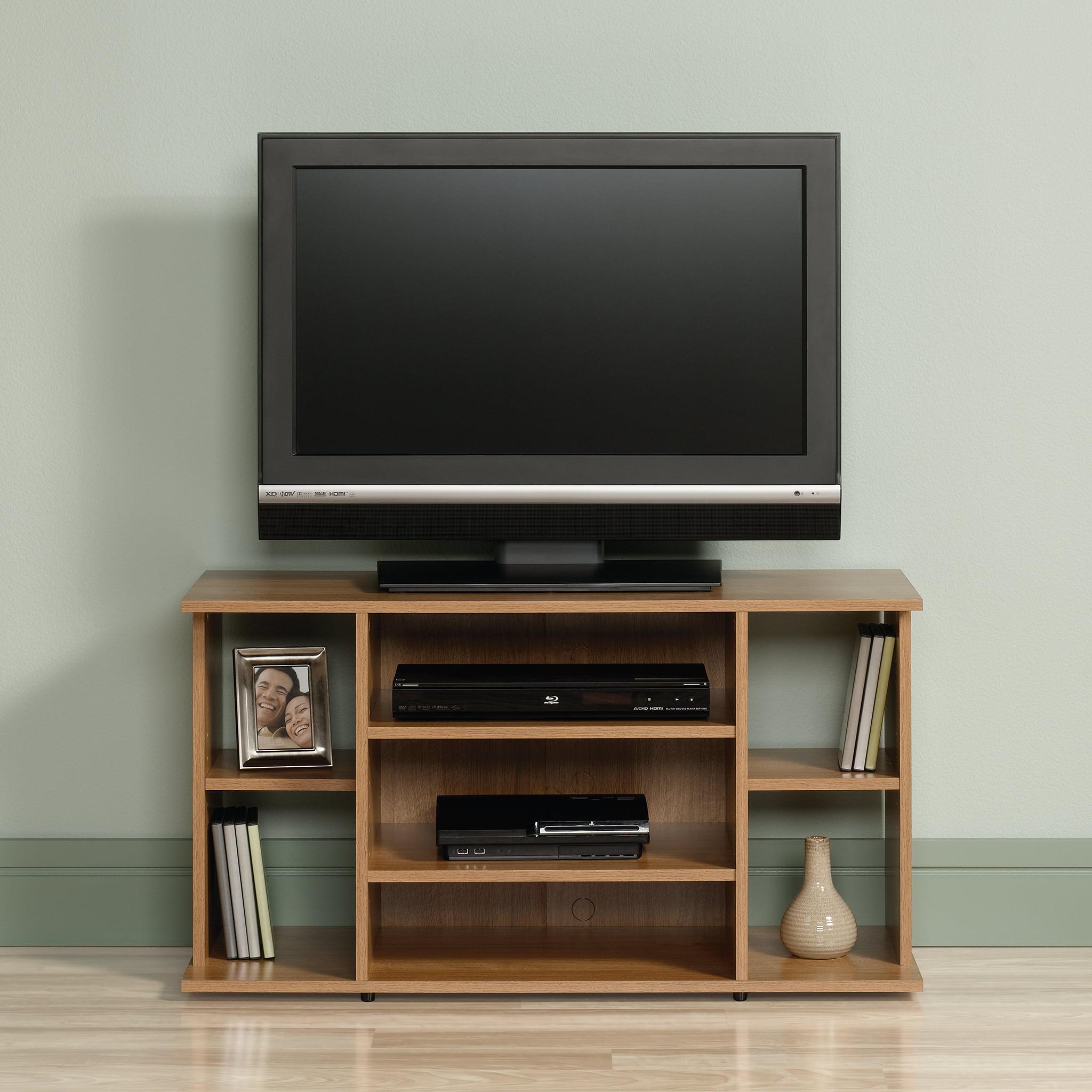 Sauder Beginnings Tv Stand For Tvs Up To 42 Highland Oak Finish
