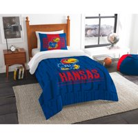 "NCAA Kansas Jayhawks ""Modern Take"" Bedding Comforter Set"