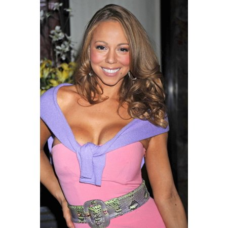 Mariah Carey At A Public Appearance For Mariah Carey Throws Switch To Light Empire State Building Empire State Building New York Ny April 26 2008 Photo By Kristin CallahanEverett Collection Celebrity