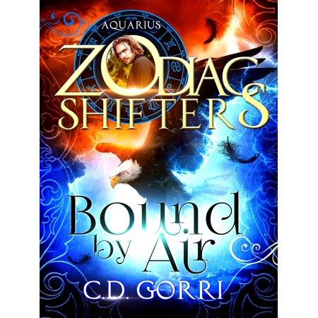 Bound By Air: A Zodiac Shifters Book: Paranormal Romance: Aquarius (Wardens of Terra Book 1) - eBook Zodiac Air Dragon