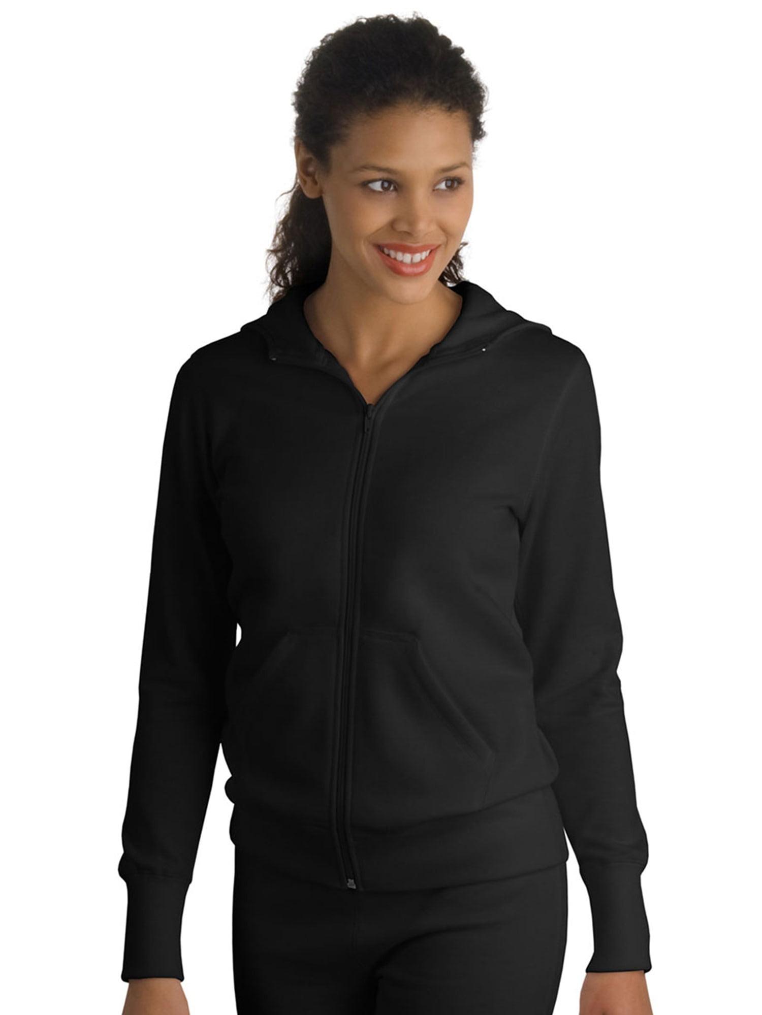 Sport-Tek Women's Stylish Full-Zip Hooded Fleece Jacket
