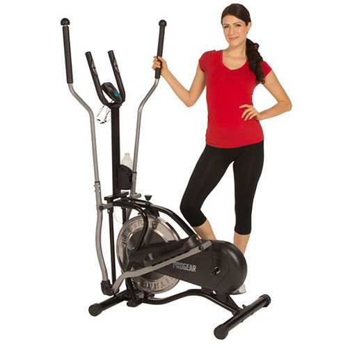 ProGear 500LS Extended Capacity Flywheel-Drive Elliptical with Heart Pulse Sensors