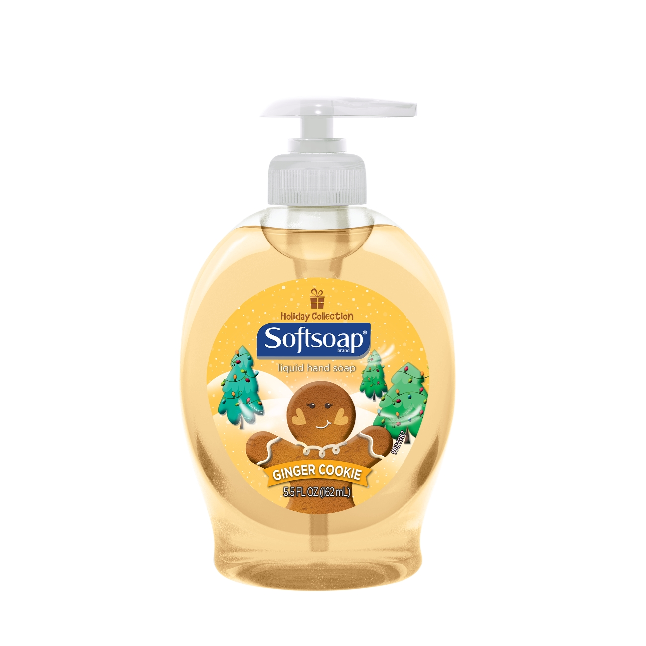 Softsoap Liquid Hand Soap Pump, Holiday Collection Ginger Cookie - 5.5 fl oz