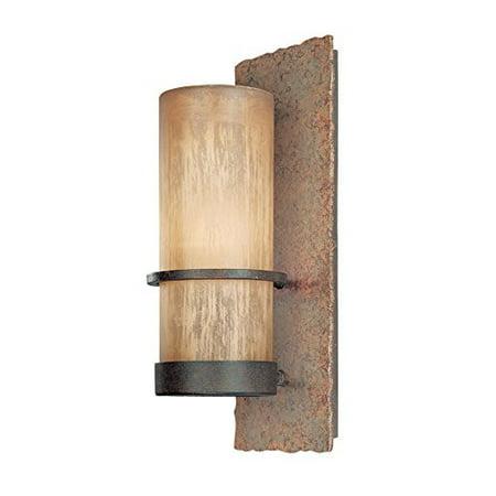 Natural Slate Water Wall - Troy Lighting B1851BB Bamboo 1 Light 14