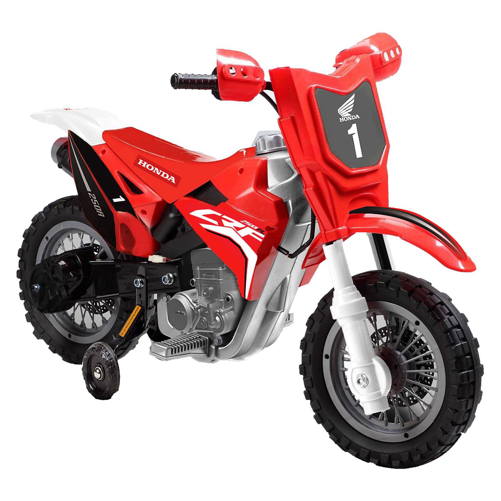 Best Ride On Cars Honda CRF250R Dirt Bike Battery Powered...