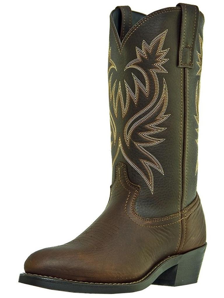 Laredo Western Boots Mens Paris Trucker Cowboy Copper Kettle 4243