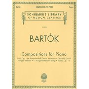 Compositions for Piano : Schirmer Library of Classics Volume 2026 Piano Solo