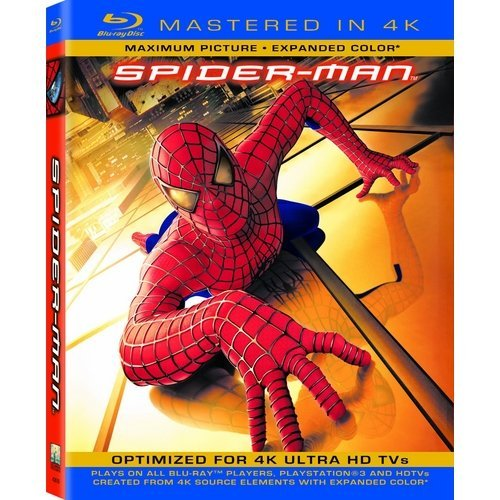 Spider-Man (Blu-ray) (With INSTAWATCH) (Widescreen)