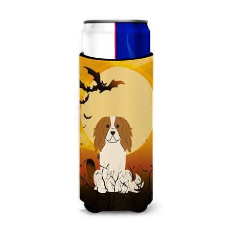 Halloween Cavalier Spaniel Michelob Ultra Hugger for slim cans BB4324MUK](Bulls Cavs Halloween)