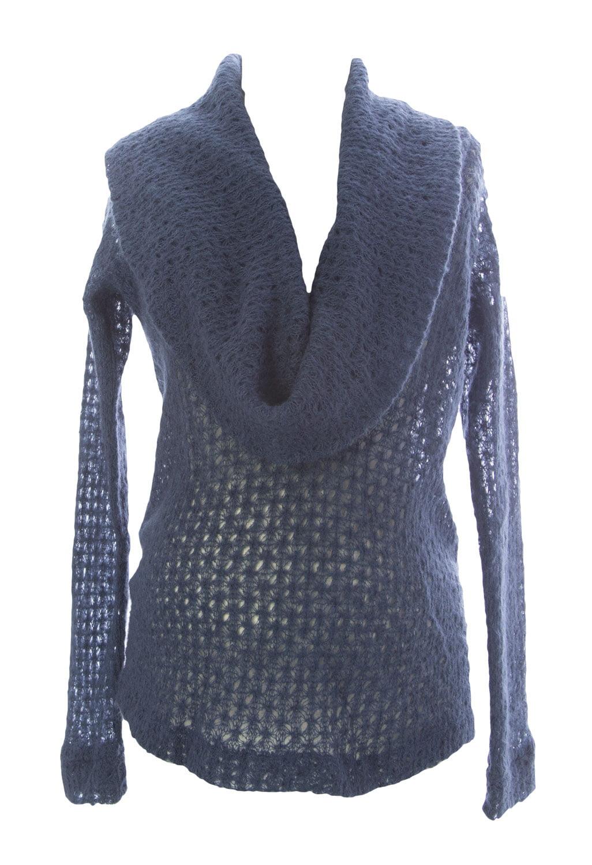 JULES & JIM Maternity Women's Shawl neck Sweater Medium Teal