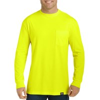Genuine Dickies Men's Long Sleeve Enhanced Visibility T-Shirt, 2-Pack