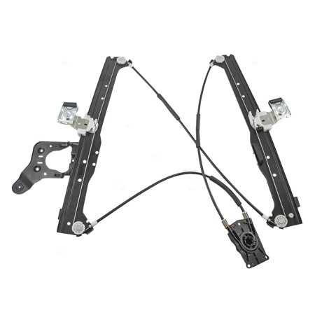 Chevrolet R/v Pickup Window (Drivers Rear Power Window Lift Regulator Replacement for Chevrolet Cadillac GMC Pickup Truck SUV 15135970)
