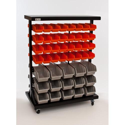TRINITY Dual-Sided EcoStorage™ Bin Rack
