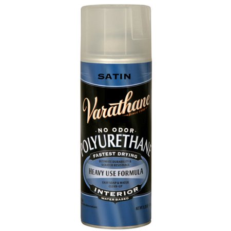Clear Satin Spray (Varathane Crystal Clear Spar Urethane Spray Satin Finish)