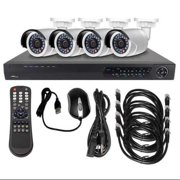 LTS LTN0441K-4B CCTV Kit,All In One,12VDC,1 TB