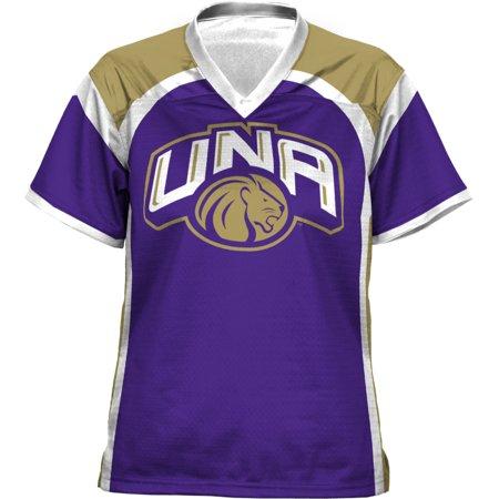 ProSphere Women's University of North Alabama Red Zone Football Fan Jersey (Alabama Spirit Jersey)