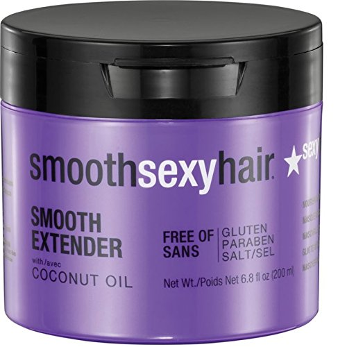 Sexy Hair Smooth Extender Nourishing Smoothing Masque, 6.8 oz