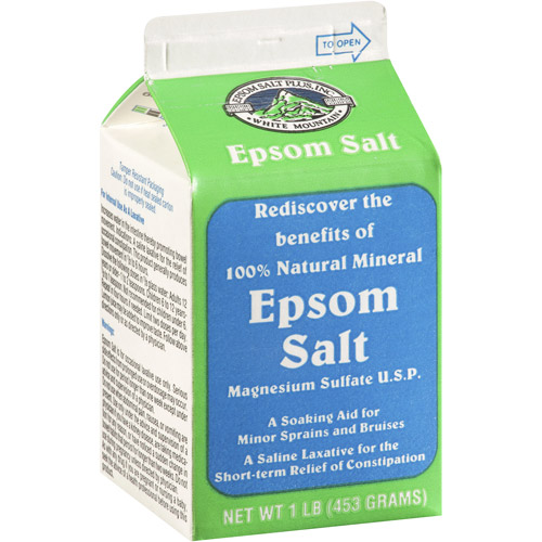 White Mountain Epsom Salt, 1 lb
