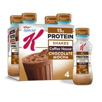 Kellogg's Special K, Protein Shakes, Chocolate Mocha, 4 Ct, 40 Fl Oz